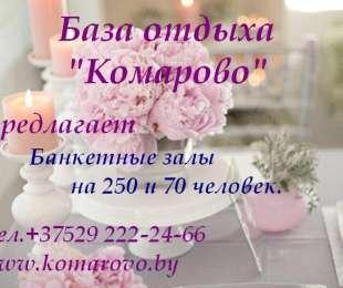 Проведение торжеств в Комарово!